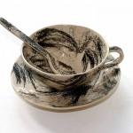 hair cup,Meret Oppenheim, Le Dejeuner en fourrure